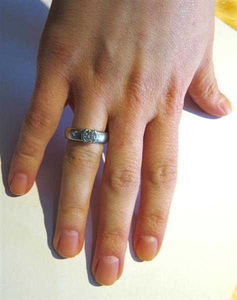 Tiffany Amp Co Etoile Platinum 0 86ct Diamond Engagement Ring