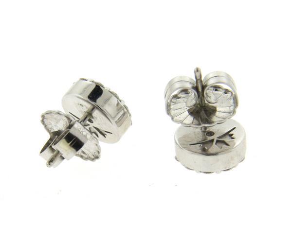 Hearts On Fire 18k Gold 2 00ctw Diamond Stud Earrings